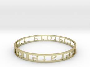 Model-451add9bdb0a97ccd5c181f477b20ef3 in 18k Gold Plated Brass