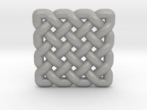 0509 Celtic Knotting - Regular Grid [4,4] in Aluminum