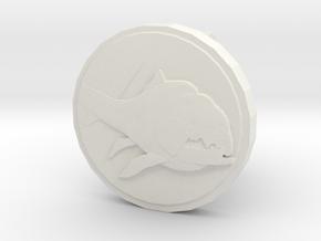 Dunkleo Cufflink in White Natural Versatile Plastic