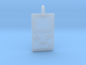 Game Boy 1989 Pendant in Smooth Fine Detail Plastic