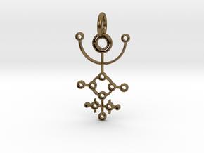 Circles No.1 in Natural Bronze