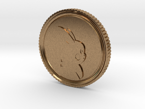 PokeCoin in Natural Brass