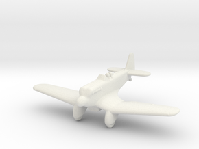 Kawasaki Ki-5 in White Natural Versatile Plastic: 1:200