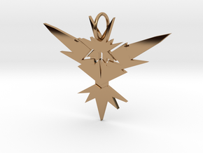 Instinct Necklace in Polished Brass