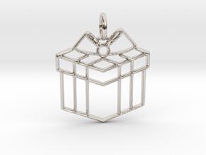 Present Pendant in Platinum