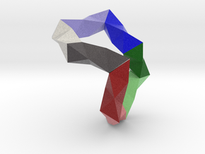 TetrahedralUltimateChain6 in Full Color Sandstone