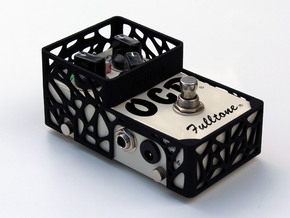 Fulltone OCD pedal cover in Black Natural Versatile Plastic
