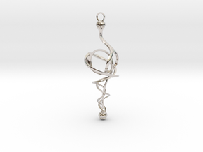 N. 11 in Rhodium Plated