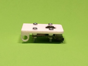 Raspberry Pi Camera Mounting Bracket in White Strong & Flexible
