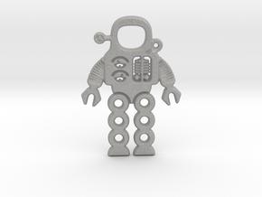Mars Robot Pendant in Aluminum