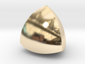 Meissner tetrahedron - Type 1 in 14K Yellow Gold