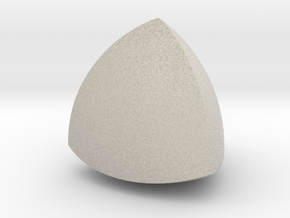 Meissner tetrahedron - Type 1 in Natural Sandstone