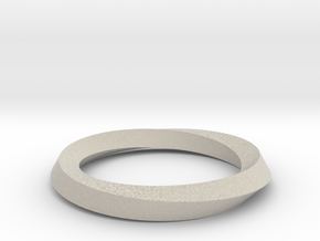Mobius band in Natural Sandstone