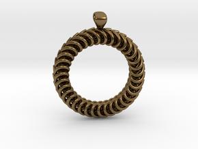 Pendant in Natural Bronze
