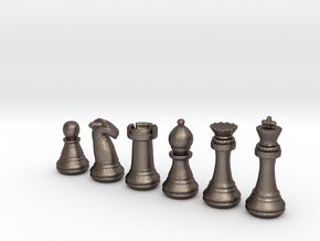 Chess Set   in Stainless Steel