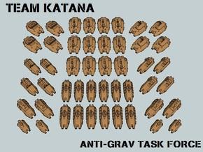 """""""Team Katana"""" 3mm Anti-Grav Task Force (48pcs) in White Strong & Flexible"""