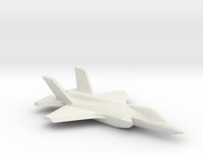 1/350 F-35A Lightning II in White Natural Versatile Plastic