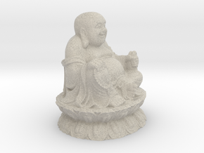 Buddha Sculpture in Natural Sandstone