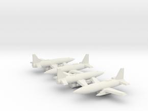 1/350 MQ-19 LCASD (x4) in White Natural Versatile Plastic