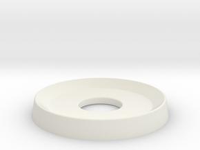 Door Washer 2 in White Natural Versatile Plastic