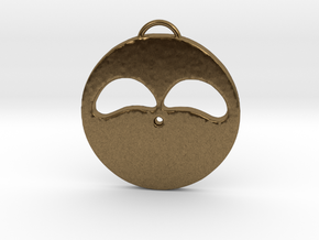 Hopeful Face in Natural Bronze
