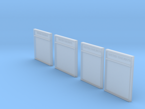 CO44 Notice Boards in Smooth Fine Detail Plastic