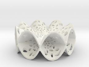 Hyperpara Pendant in White Strong & Flexible