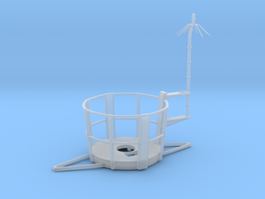1/48 Top Platform for Main Mast in Smooth Fine Detail Plastic