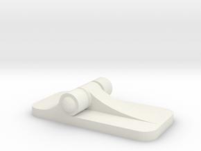 Hinees in White Natural Versatile Plastic