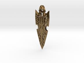 Decorative Arrow Head in Natural Bronze