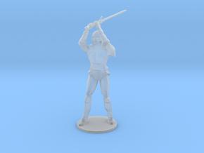 Armored Warrior in Smoothest Fine Detail Plastic
