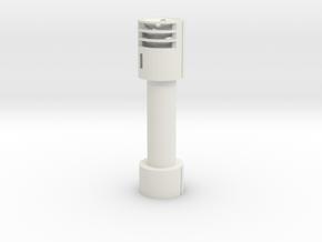 Lrb for 35mm banana (32mm inner diameter) in White Natural Versatile Plastic