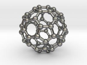Fullerene in Polished Silver
