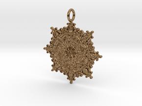 Classian Pendantian in Natural Brass