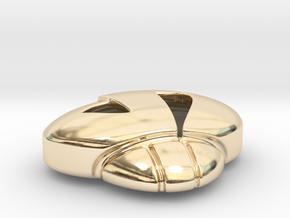 TeamSkulltoken in 14k Gold Plated Brass