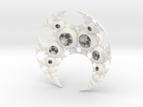 Vritra's Pearls in White Processed Versatile Plastic