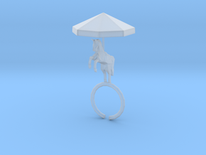Carousel Ring in Smooth Fine Detail Plastic