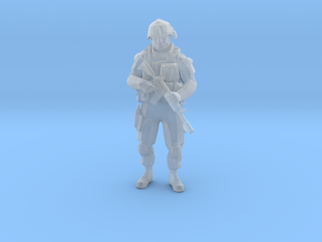 Modern Soldier Standing (1/48 Scale) in Smooth Fine Detail Plastic