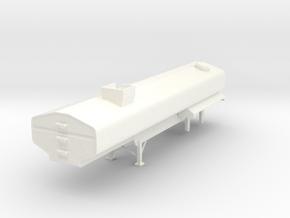 1/64 Diller 7250gal Manure tanker. in White Processed Versatile Plastic