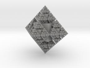 Snowflake Fractal in Aluminum