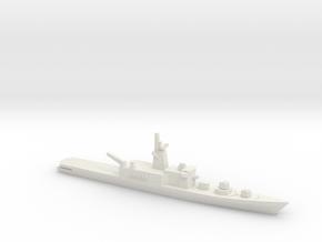 Haruna-class DDH (1973), 1/2400 in White Natural Versatile Plastic