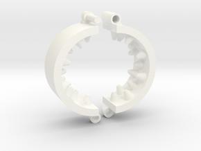 Kalis Grip 40/5 in White Processed Versatile Plastic