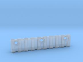 9 slot Keymod side Picatinny rail in Smooth Fine Detail Plastic