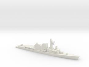 Hatsuyuki-class destroyer, 1/1800 in White Natural Versatile Plastic