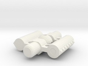 Glenross Dental Expansion Screw Full in White Natural Versatile Plastic