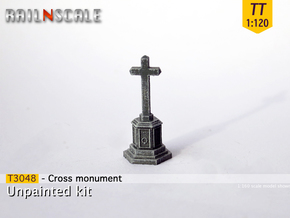 Cross memorial (TT 1:120) in Smooth Fine Detail Plastic