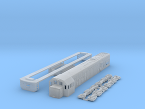 1:150 Scale U20c in Smooth Fine Detail Plastic