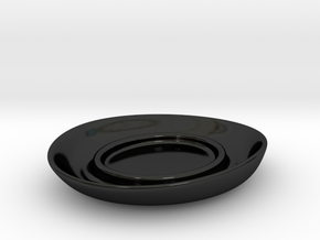 Bowler-Bowl V5-Schale in Gloss Black Porcelain