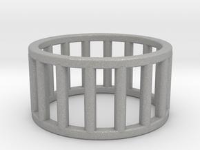 Albaro Ring- Size,6 in Aluminum