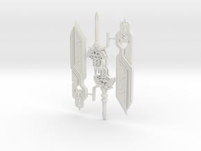 Astro Sword 2 Pack Small in White Natural Versatile Plastic